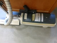black and gray canister vacuum cleaner Calgary