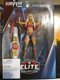 WWE ELITE ALEXA BLISS WRESTLING FIGURE