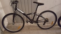 mountain bike hardtail bianco e nero