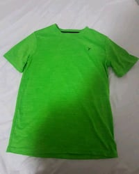 neon green drifit shirt from old navy fits small Vancouver, V5S 2N8