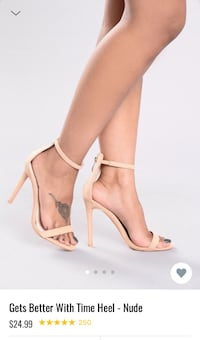 Fashion Nova Heels 8.5 Midland, 79707