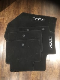 Kia Soul Black floor mat set Langford, V9B 4A9