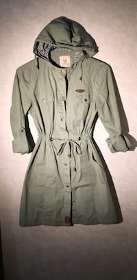 ARMY GREEN BUTTON UP TUNIC Greater Vancouver, V6T