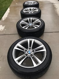 "BMW 18"" sport line wheels. 2014 335i. With Pirreli snow tires used for one and a half seasons. .   Erie, 80516"