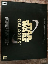 NEW COLLECTORS EDITION!  STAR WARS Galaxies an Empire Divided