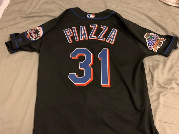 super popular a3b72 81965 Authentic Mike Piazza jersey, size 44