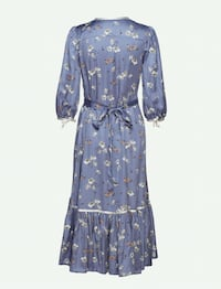 By Timo wrapdress in blue-lavender  tone  Oslo, 0355