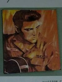 "Elvis ""US Army"" art 16""×20"" Giclee on canvas Reston, 20194"
