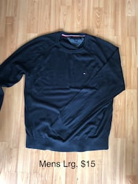 Mens Tommy sweater-Lrg