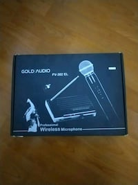 Gold Audio wireless micrafon Istanbul