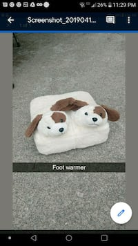 Foot massager and warmer