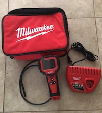 Milwaukee M12 12-Volt Lithium-Ion Cordless M Spector 360 Degree Digital Inspection Camera Kit and Tool Bag (missing battery) Los Angeles, 91342