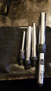Curling wand with attachments  London, N6A