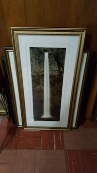white and brown wooden framed painting Toronto, M3H