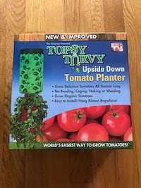 New sealed Upside down Tomato berry planter 欢乐谷, 97086