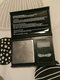 black and gray digital electronic device