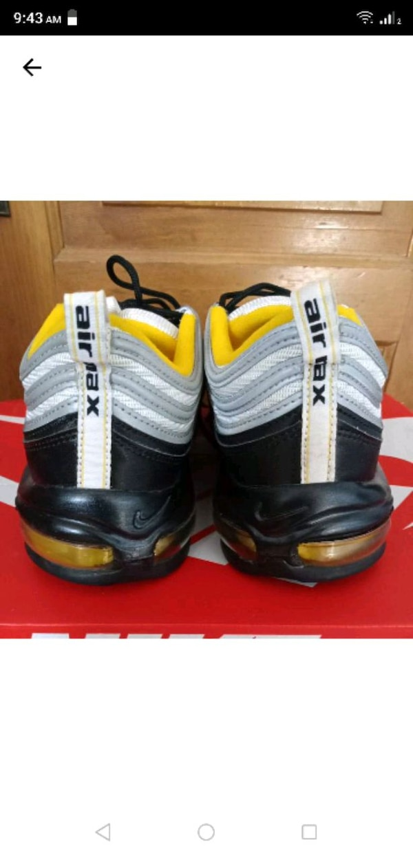 084b05e57e Used Nike air max 97 Steelers for sale in Chicago - letgo