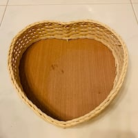 Pretty Heart Shape Hamper Basket Hougang, 530971