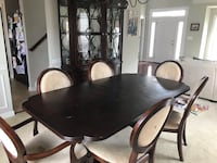Dining room set- Table, 6 chairs, and China cabinet Woodbridge, 22191