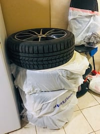 New Snow tires and alloy rims Mississauga, L5V 2N9