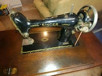 Antique (1910) Singer treadle sewing machine Burke, 22015