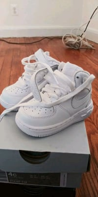 pair of white Nike Air Force 1 low Baltimore, 21206