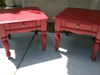 Like New Night Stands. Made of real wood Las Vegas, 89142
