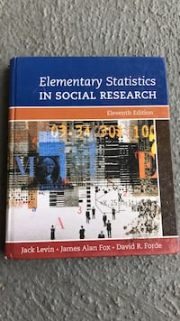 TextBook: Elementary Statistics in Social Research Los Angeles, 90043