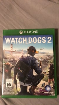 Watch Dogs 2 Xbox One game case St Albert, T8N 3E5