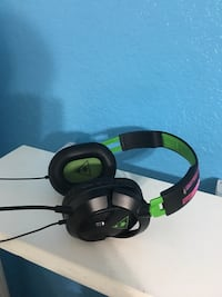 Black and green turtle beach 50x headset Ocala, 34472