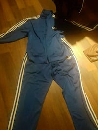blue and white adidas tracksuit Ajax, L1T 4X7