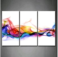 3 Panel Wall Art Print On Canvas Pictures Decor