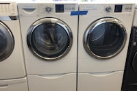 Bosh washer and dryer set with pedestals  Bowie, 20715