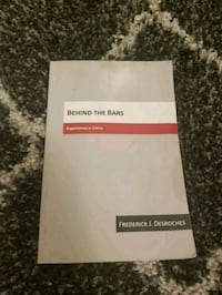 BEHIND THE BARS BY FREDERICK J. DESROCHES BOOK Toronto, M9B 5S7