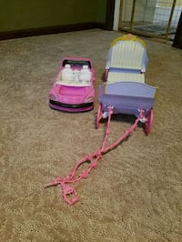 Barbie car and carriage Ellicott City, 21043