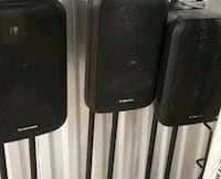 black Pioneer speakers 3 for 150$ Edmonton, T5A 3T6