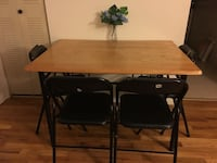 Dinning table + 4 foldable chairs Sayreville, 08872