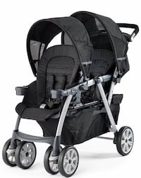 Chicco Baby's black double stroller Lutherville Timonium, 21093