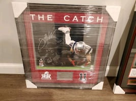 Edelman the catch signed