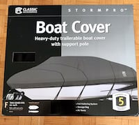 New Heavy Duty Boat Cover up to 24ft. boat Toronto, M2N