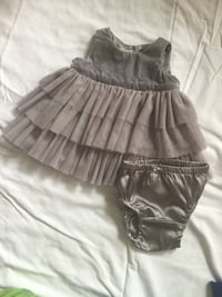 Stylish ruffle dress for tiny you use 3 months from baby hap Calgary, T3K 6J7