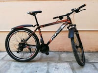 black and red hard tail mountain bike Chennai, 600097