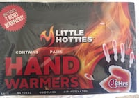 Hand warmers, Never opened  Alexandria, 22310