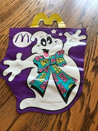 1990 McDonald's Trick or Treat Bag Perryville, 21903