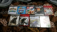 assorted Sony PS3 game cases Abbotsford, V2T 6V9