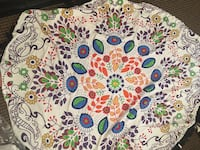 white, blue, green, and red flower print textile Osoyoos, V0H