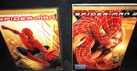 Spiderman I and II dvds Rochester