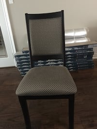 black and gray padded chair Mississauga, L4Y 3H3