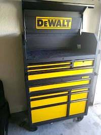 black and yellow Craftsman tool chest Fort Myers, 33916
