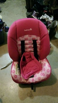 baby's pink and white floral car seat carrier Mission, V2V 1C5